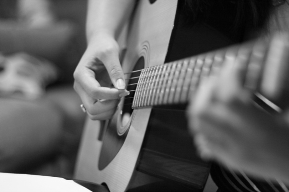 Young woman with guitar; photo (c) http://www.sxc.hu/profile/lauren-rec